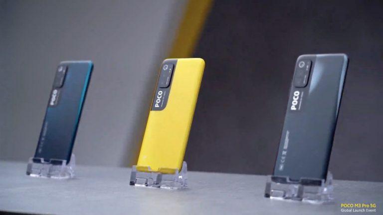 گوشی شیائومی Poco M3 Pro 5G | حافظه 128 رم 6 گیگابایت